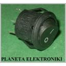 Przełącznik okrągły kołyskowy 3A AC 2poz 3pin