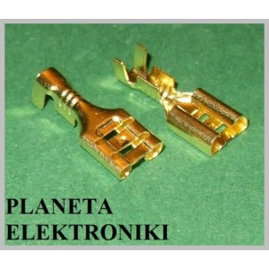 Konektor żeński 6,4mm KPL 10szt