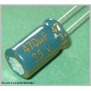 Kondensator LOW ESR 470uF 35V komplet 10szt
