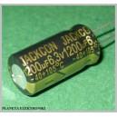 Kondensator LOW ESR 1200uF 6,3V kpl 10szt F