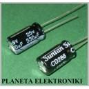 Kondensator LOW ESR 330uF 25V 10szt 105C
