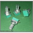Potencjometr obrotowy 1k Ohm liniowy 9x11mm