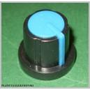 Gałka do potencjometru obrot niebieska 17,5mm
