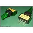 Przełącznik LIZAK 12V zielony