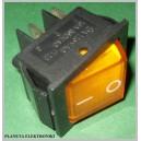 Przełącznik podświetlany POMARAŃCZOWY 12V