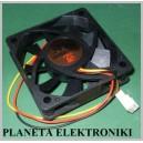 WENTYLATOR Wiatrak PC 60 x 60 x 15 12V