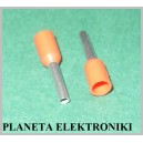 Zakończenie kabla tulejki 1mm E-1008 100szt