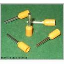 Zakończenie kabla tulejki 0,50mm E-0208 100sz