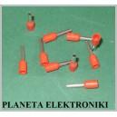 Zakończenie kabla tulejki 0,75mm E7508 100szt