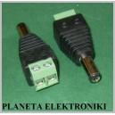 Wtyk zasilający DC 2,1 / 5,5 + szybkozłącze