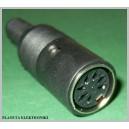 Gniazdo DIN 7pin 7p na kabel