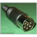 Wtyk DIN 6pin 6p na kabel