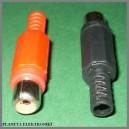 Gniazdo RCA cinch na kabel KPL 10szt