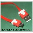 Kabel wtyk MICRO USB na USB płaski Nokia 1m (2052)