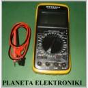 Miernik cyfrowy multimetr Amperomierz DT9205A