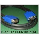 Kabel do monitora SVGA wtyk - wtyk 5m