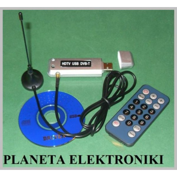 Tuner Dvb T Karta Tv Do Laptop Komputera Hd Planeta Elektroniki