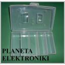 ORGANIZER pojemnik pudełko 20x12x4,5cm 5przeg (2100)