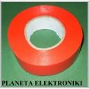 Taśma izolacyjna PVC czerwona 25m szer.19mm
