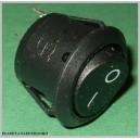 Przełącznik okrągły kołyskowy 2poz 2pin