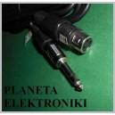 Kabel mikrofonowy wtyk JACK 6,3 stereo / gniazdo XLR 3m (2124)