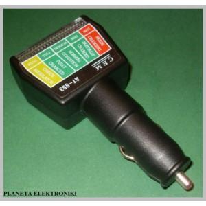 Wskaźnik Napięcia Akumulatora
