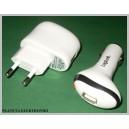Zasilacz USB 230V + 12V zapalniczki LogiLink