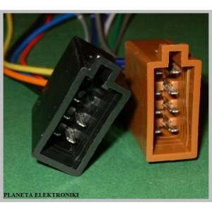 Gniazdo ISO głośniki + zasilanie