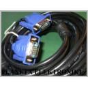 Kabel do monitora wtyk VGA Dsub 15pin 10m