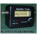 Miernik do ustawiania anten satelitarnych Led