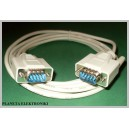Kabel wtyk RS232 - wtyk DSUB 9pin 9p 1,8m