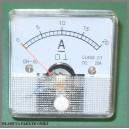 Miernik analogowy Amperomierz 20A + bocznik