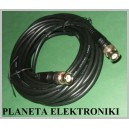Kabel wtyk BNC - wtyk BNC Czarny 7,5m