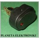 Przełącznik kołyskowy ASW20D czarny