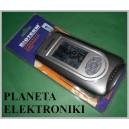 STACJA POGODY Termometr zew/wew budzik zegar (2364)