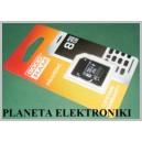 Karta pamięci MICRO SD 8GB + adapter Goodram