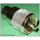 Wtyk CB UC1 UHF nakręcany RG11 RG213 10mm