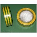 Taśma izolacyjna żółto - zielona 25m szer19mm