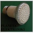 ŻARÓWKA 80 LED  E27 / 230V  biała
