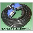 Kabel do monitora wtyk VGA Dsub 15pin 15m