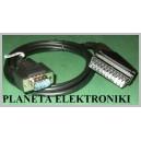 KABEL EURO SCART - VGA DSUB TUNER-MONITOR 10m