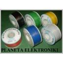Przewód kabel KYNAR 0,24mm (2m) zielony