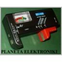Tester Miernik Baterii AAA AA R3 R6 9V 1,5V