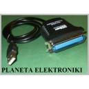 KABEL drukarka laptop pc wtyk LPT 25pin - USB