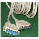 Kabel przedłużacz do drukarki LPT 25pin 5m