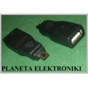 Wtyk MICRO USB / gniazdo USB OTG smartfon