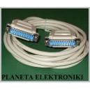 Kabel do drukarki LPT wt - wtyk 25pin 3m
