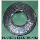 Kabel Przewód RG58U drut czarny rolka 100m