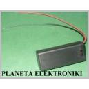 KOSZYK pojemnik na baterie AAA 2x R3 wyłącznik