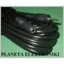 Przedłużacz wtyk 2,5 / gniazdo 3,5 stereo 5m